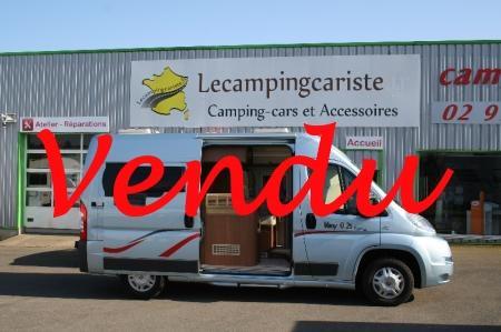 camping car CHALLENGER VANY  02S PRESTIGE modele 2014