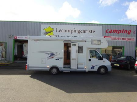 camping car FRANKIA HOLIDAY A 650 modele 2004